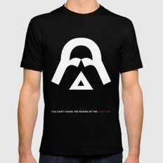 The Power of the Dark Side Black MEDIUM Mens Fitted Tee