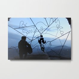 The Concert at the Top of the Mountain  Metal Print