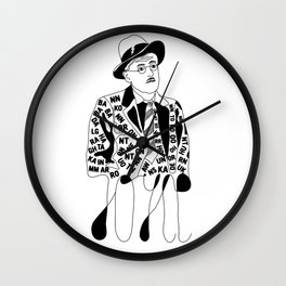 James Thunder Joyce Wall Clock