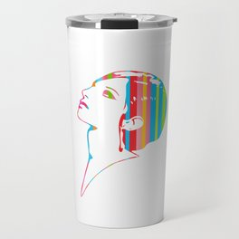 Barbra Streisand | Pop Art Travel Mug