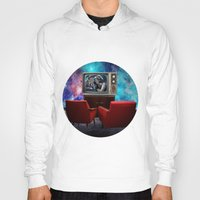 tv Hoodies featuring Television by Cs025