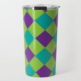 Modern Argyle 2 Travel Mug