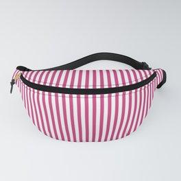 Pink Yarrow Stripes Fanny Pack