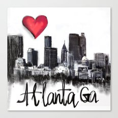 I love Atlanta Canvas Print