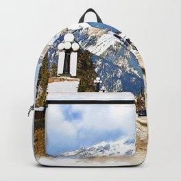 Cascade Mountain - Banff  Alberta Canada Backpack