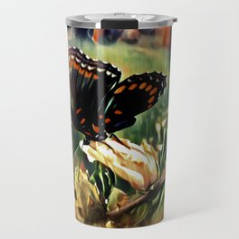 Butterfly Summer Travel Mug