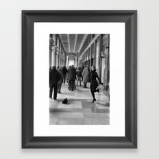Tip Tap dancer Framed Art Print