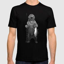 Harpoon Fishing Bear T-shirt