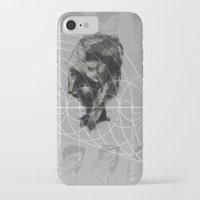 fibonacci iPhone & iPod Cases featuring Fibonacci by eglerama