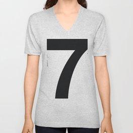 Nº7. Helvetica Posters by empatía® Unisex V-Neck