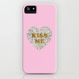 Lucent Heart (Kiss Me) iPhone Case