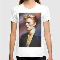 bowie T-shirts featuring Bowie by Cristina Sandia