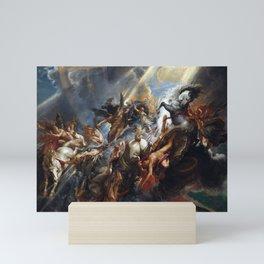 Peter Paul Rubens The Fall of Phaeton Mini Art Print