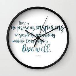 """Inspiring"" Ornate Wall Clock"