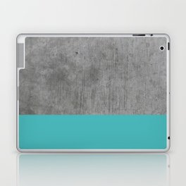 Concrete x Blue Laptop & iPad Skin