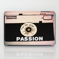 passion iPad Cases featuring Passion by Julia Kovtunyak