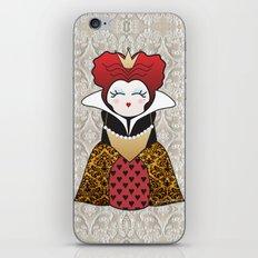 Kokeshi Queen of hearts iPhone & iPod Skin
