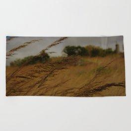 Amber Waves Beach Towel