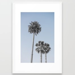 California Connection Tower #17 Framed Art Print