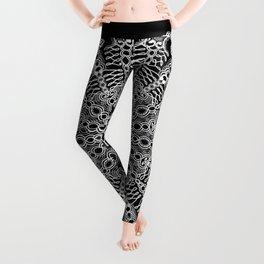 Mandala Project 228 | White Lace Leggings