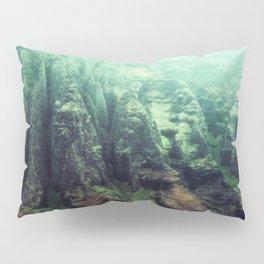 Na' Pali Cliffs Kauai Hawaii Pillow Sham