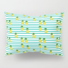 Ananas tropical summer pattern Pillow Sham