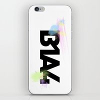 font iPhone & iPod Skins featuring B1A4 font by B1A4 & Bana