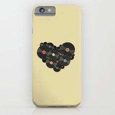 Heart of a Vinyl Lover Slim Case iPhone 6