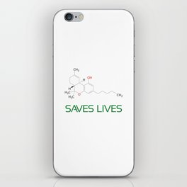 Saves Lives iPhone Skin