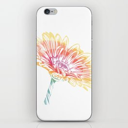 Blooming Daisy Abstract iPhone Skin