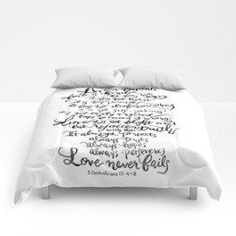 Love is Patient, Love is Kind -1 Corinthians 13:4-8 Comforters