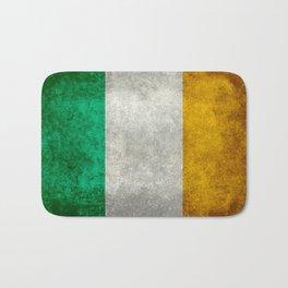 Flag of the Republic of Ireland, Vintage style Bath Mat