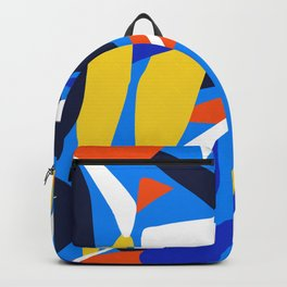 Abstract Stripes Backpack