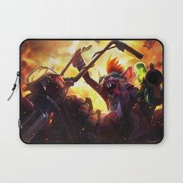 Vandal Twitch Splash Art  Wallpaper Background Official Art Artwork League of Legends lol Laptop Sleeve