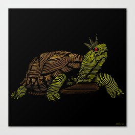 King of the Turtles!  Canvas Print