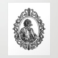 Gentleman Dog Art Print