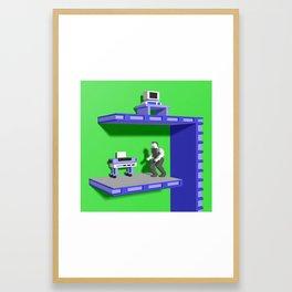 Inside Impossible Mission Framed Art Print