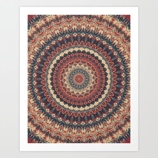 Mandala 595 Art Print