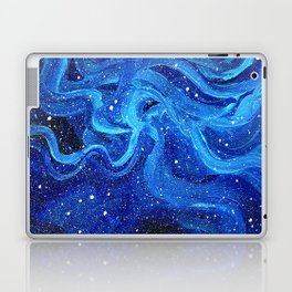 Galaxy Painting Acrylic Galaxy Art Laptop & iPad Skin