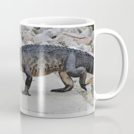 Crossing The Sidewalk Coffee Mug