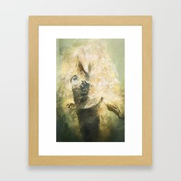 Lovecraft Fish Framed Art Print