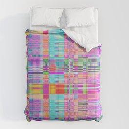 Distortion Coloured Noise Art Comforters
