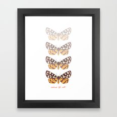 Ranchman's Tiger Moth Framed Art Print
