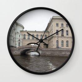 Hermitage Bridge Wall Clock