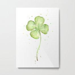 Four Leaf Clover Metal Print