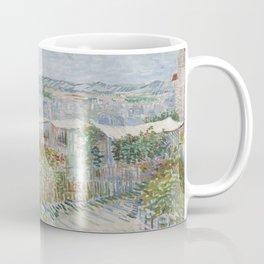 Montmartre: Behind the Moulin de la Galette Coffee Mug
