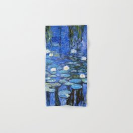 waterlilies a la Monet Hand & Bath Towel