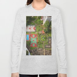 Singapore aerial drone Long Sleeve T-shirt
