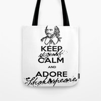 theatre Tote Bags featuring Love Theatre! by MeltingMiltons