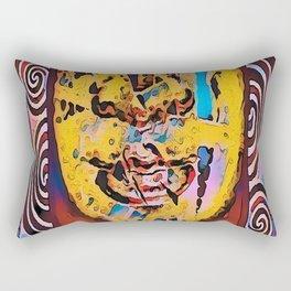 Buddah series 1.9 Rectangular Pillow